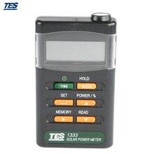 TES1333 ручной Солнечный Мощность метр солнечной энергии метр