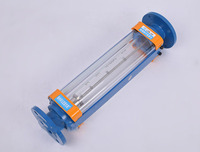 DN50 LZB 50 Glass Rotameter Flow Meter For Liquid Flange Connection LZB50 Tools Flowmeters Analysis Instruments