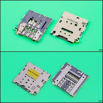 YuXi SIM Card Reader Slot tray Holder Connector for Samsung Galaxy E7 E7009 E7000 E700 E5 E5000 E5009 E500 memory SD socket plug image