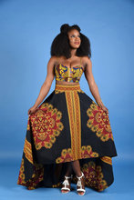 African Bazin Riche Dresses Time-limited Polyester African Traditional Dresses 2017 New Digital Printing Dress A Set Of Sc110