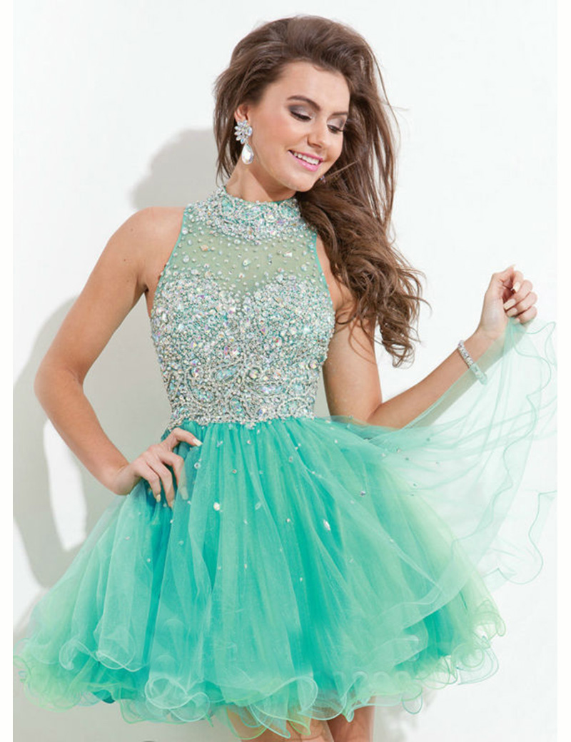 Colorful Short Puffy Party Dresses Picture Collection - Wedding ...