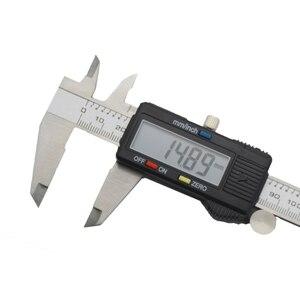 Image 3 - Outil de mesure de la profondeur des étrier métalliques, micromètre électronique à vernier numérique 150mm 6 à écran LCD