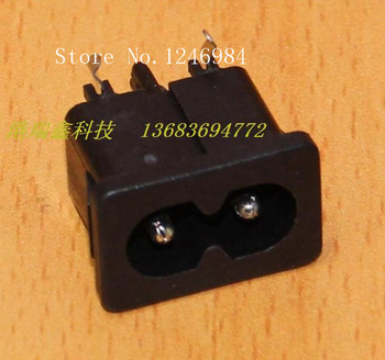 [SA]STEADY AC outlet AC power outlet two core character of small curved legs welded plate holder 2121-3-PP--100PCS/LOT