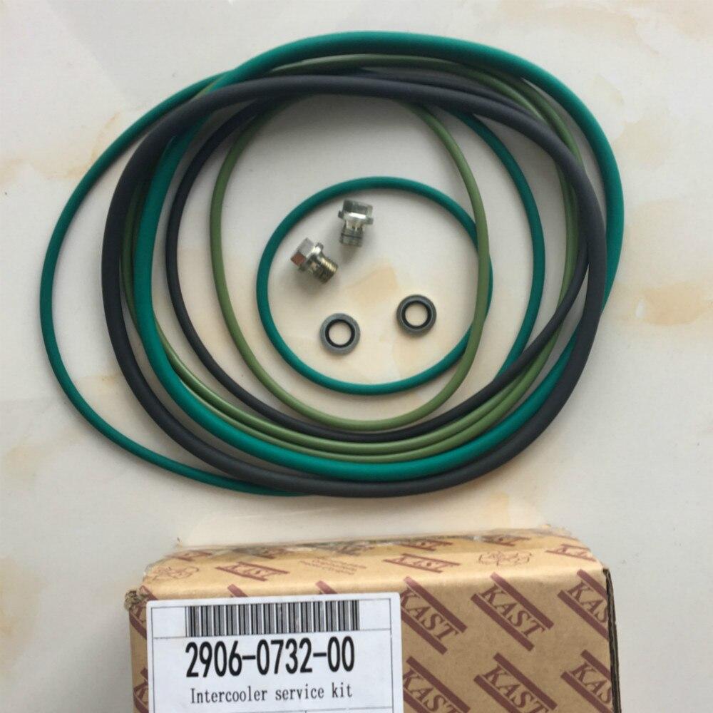 2906073200 refroidisseur radiateur Kit de Service pièces de rechange entretien pour sans huile vis compresseur d'air Atlas Copco ZR132 - 2
