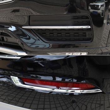 4 * Frente Chrome + Rear Fog Lâmpada Luz Capa Stripe XC90 Guarnição Para Volvo 2015-2018