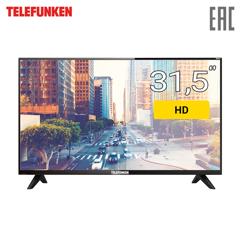 TV 31.5 Telefunken TF-LED32S76T2 HD 3239inchTV dvb dvb-t dvb-t2 digital dvb t digital antenna