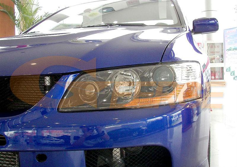 Untuk Mitsubishi Lancer Evo 7 8 9 2002-2007 Mata Malaikat Yang Sangat - Lampu mobil - Foto 2