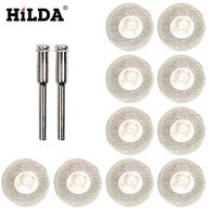 12PCS 30 50mm mini cutting disc for Rotory accessories thickening diamond grinding wheel circular saw blade