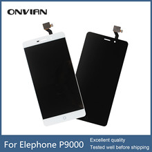 Lcd display for Elephant Elephone P9000 New Assembly Mobile Phone Touch Screen with lcd screen sensor