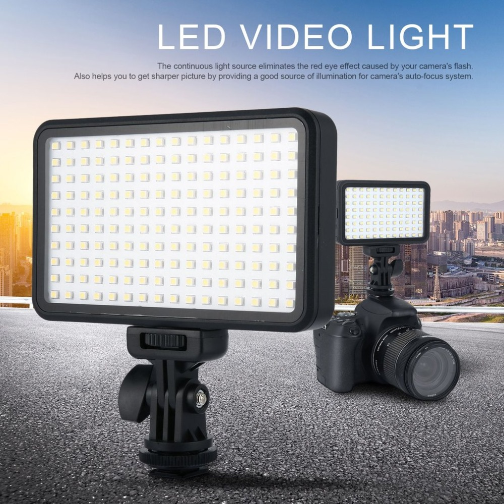 Pad160 Camera Video Led Light 6000k Dimmable Fill Light Continuous