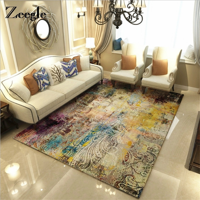 Incredible Zeegle Living Room Carpet Child Baby Bedroom Office Table Floor Mats Washable Bedroom Area Rugs In Carpet From Home Garden On Aliexpress Com Interior Design Ideas Oteneahmetsinanyavuzinfo