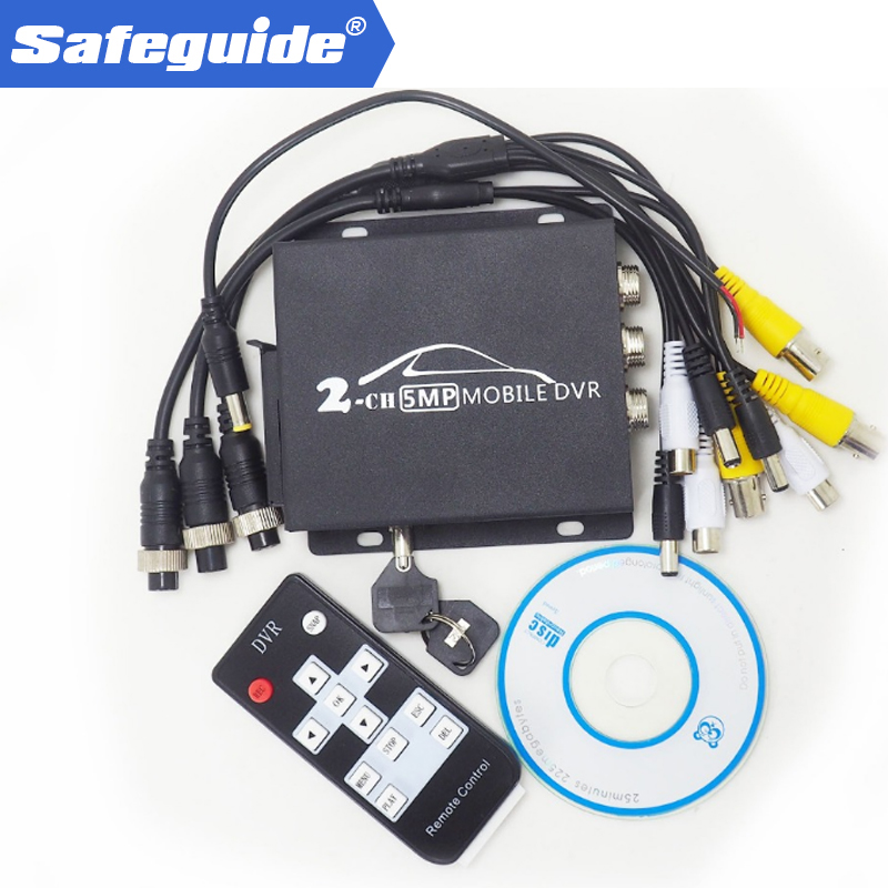 Updated NEW AHD DVR Factory Direct Batch DVR Car Truck Vehicle Video Record Mobile DVR 2CH MINI DVR HDMI CVBS AHD