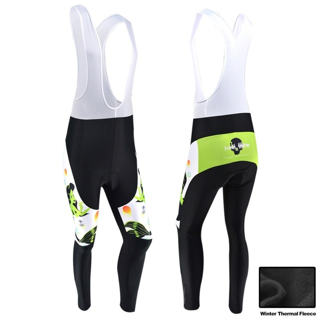 f785b1ced BXIO Winter Cycling Pants Long Bike Clothing Warm MTB Bicycle Trousers 3D  Gel Pad Mujer Invierno