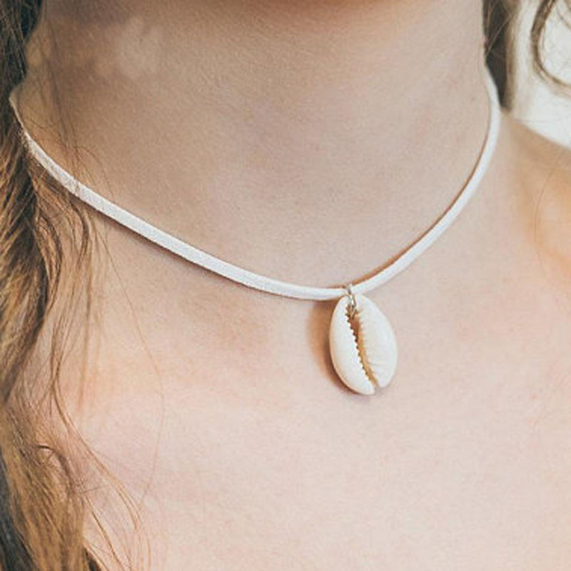 Artilady shell choker necklace gold chain necklace Cowrie boho jewelry for women party gift drop shipping 12