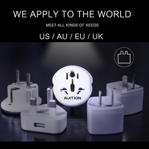 "Image 3 - המכירה הפומבית 10 יח\חבילה אוניברסלי האיחוד האירופי תקע מתאם 16A חשמל תקע ממיר AC 250V נסיעות מטען קיר כוח מתאם עבור ארה""ב בריטניה AU"