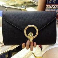 Ngày bạc ly hợp túi phong bì màu đen của phụ nữ túi xách màu vàng thời trang cho phụ nữ túi vai tối túi vàng red/trắng/xám