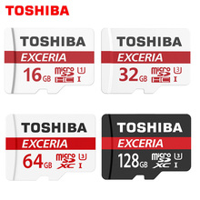 Карта памяти Toshiba 128 ГБ 64 ГБ SDXC макс до 90 МБ/с. Micro SD карты SDHC-I 32 ГБ 16 г u1 Class10 официальный проверки