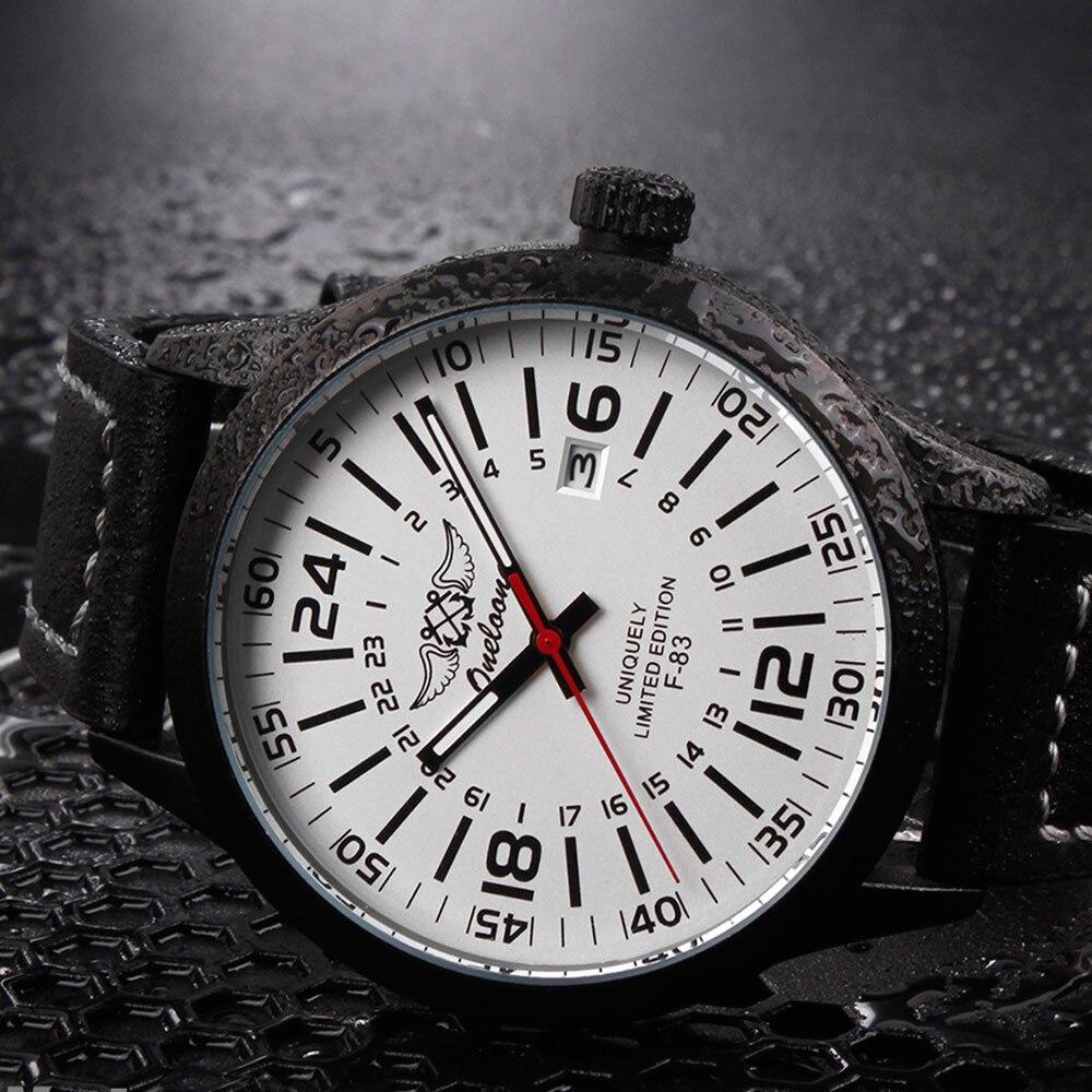 Men Sport Quartz Watch Leather Strap Watches Military Business Date Clock Casual Wrist watches Round Slim Pointer Clock LL@17  недорого