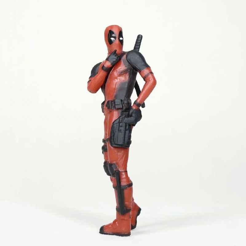 Deadpool 2 Thanos Figura de Ação Modelo deitado Postura Mini Boneca Coleção Estatueta Brinquedos Para Meninos