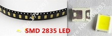 100PCS SMD 2835 LED Diodes White LEDs Diode Chip Lamp Beads Bright  0.2W 21-23LM