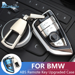 Hava hızı ABS BMW X5 F15 X6 F16 X1 F48 F45 F46 G30 G11 G01 aksesuarları BMW anahtarlık BMW anahtar kılıfı kapak kabuk yükseltilmiş