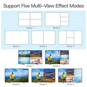 Image 5 - 1080P 4x1 HDMI multi viewer HDMI Quad Screen w czasie rzeczywistym multi viewer rozdzielacz HDMI jednolity przełącznik z sterowanie ir