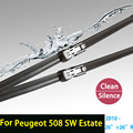 "Wiper blades for Peugeot 508 SW Estate ( from 2010 onwards ) 26""+26""R fit push button wiper arms only"
