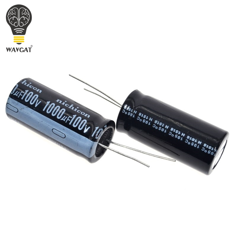Free Shipping 10PCS 100V1000UF 18*35mm Electrolytic Capacitor 1000UF/100V