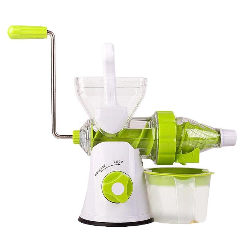 Ice Cream Machine Reviews Part - 41: Ice Cream Machine U0026 Slow Juicer Fruit Vegetable Tools Plastic  Multifuctional Fruit Squeezer Hand Juicer Machine