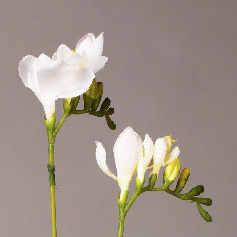 Silk freesia flowers gallery flower decoration ideas artificial silk freesia bunch wedding flowers white pink yellow ebay mightylinksfo