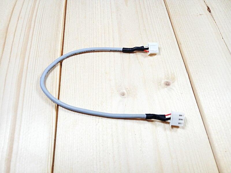 Il trasporto libero 5 pz/lotto XH2.54 3 p con 28awg Cavo Schermato doppio lato testa di 2.54mm connettore a passo con Schermato linea di 0.1 mIl trasporto libero 5 pz/lotto XH2.54 3 p con 28awg Cavo Schermato doppio lato testa di 2.54mm connettore a passo con Schermato linea di 0.1 m