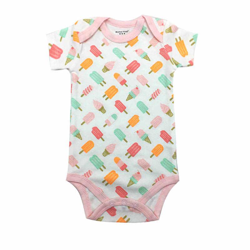 Baby Bodysuit Pasgeboren Print Body Suit Fashion Zomer Baby Kinderen Meisje Jongen Lange Mouw Baby Peuter Jumpers Baby Bodysuit
