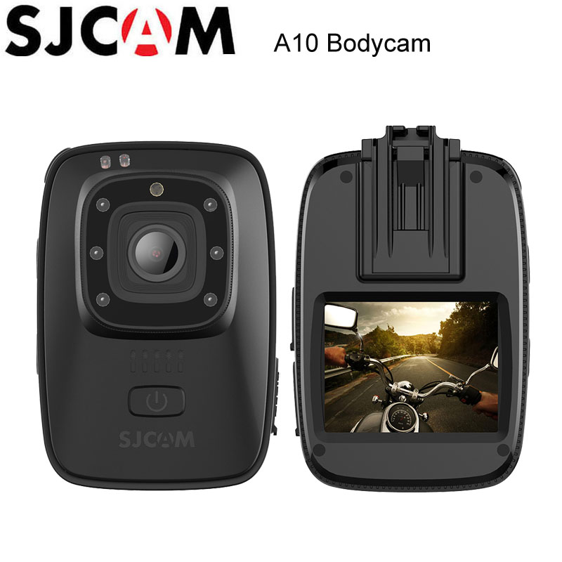 все цены на SJCAM A10 Portable Body Cam Wearable Infrared Security Camera IR-Cut Night Vision Laser Positioning Action Camera онлайн