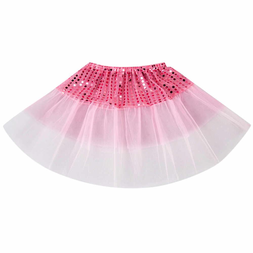 Todder crianças meninas ballet tutu princesa fantasiar-se dança vestir traje festa de ano novo vestido de dança traje 6 cores