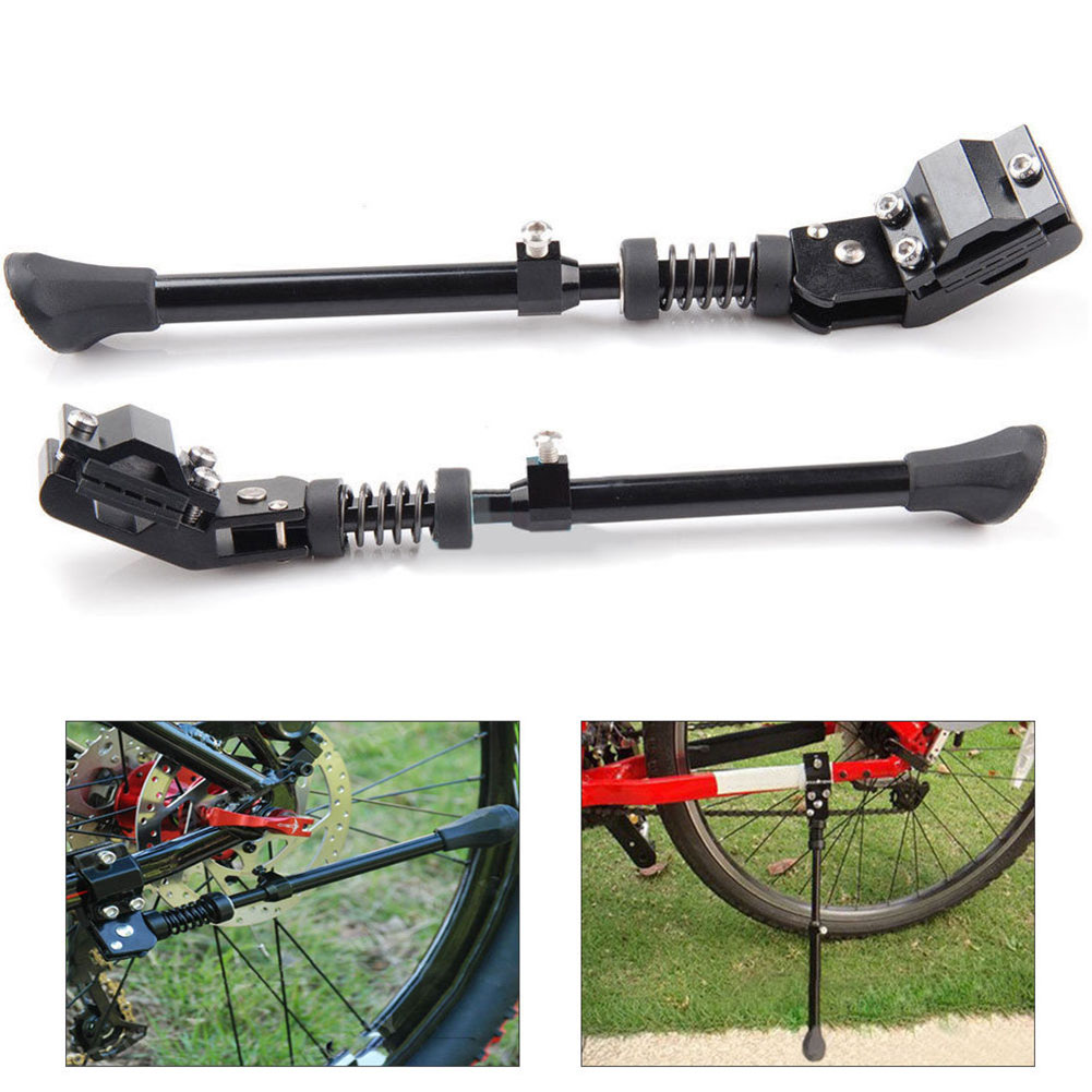 Mountain Bike Kickstand Aluminum Alloy Waterproof Bicycle Side Stand for 16/20/24/26 Inch Tire ALS88