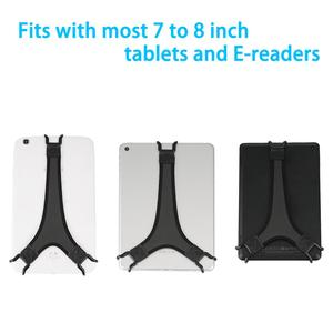 Image 2 - TFY Security e reader Hand Strap Holder Soft PU Finger Grip Compatible with Tablet   iPad mini / Galaxy Tab 2 / 3 / 4 , Black