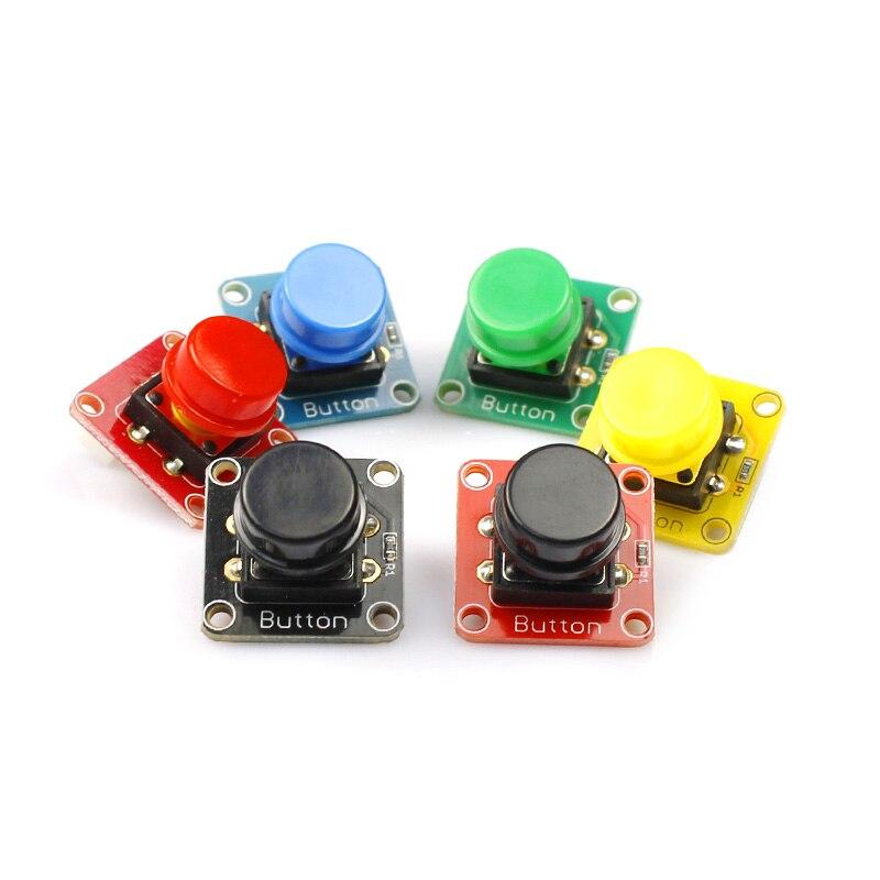 Kit d'apprentissage Elecrow Crowtail entrée et sortie fonction transducteur de commutation Modules bricolage Kit de combinaison pour la programmation Arduino - 5