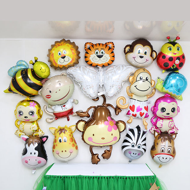Online Shop 1pc Monkey Foil Helium Baby Shower Balloons Baby Child