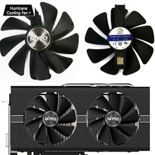 Новый 95 мм CF1015H12D кулер для видеокарты вентилятор для сапфир NITRO RX480 RX470 8G RX 470 480 4G GDDR5 RX570 4G 8G D5 RX580 8G OC