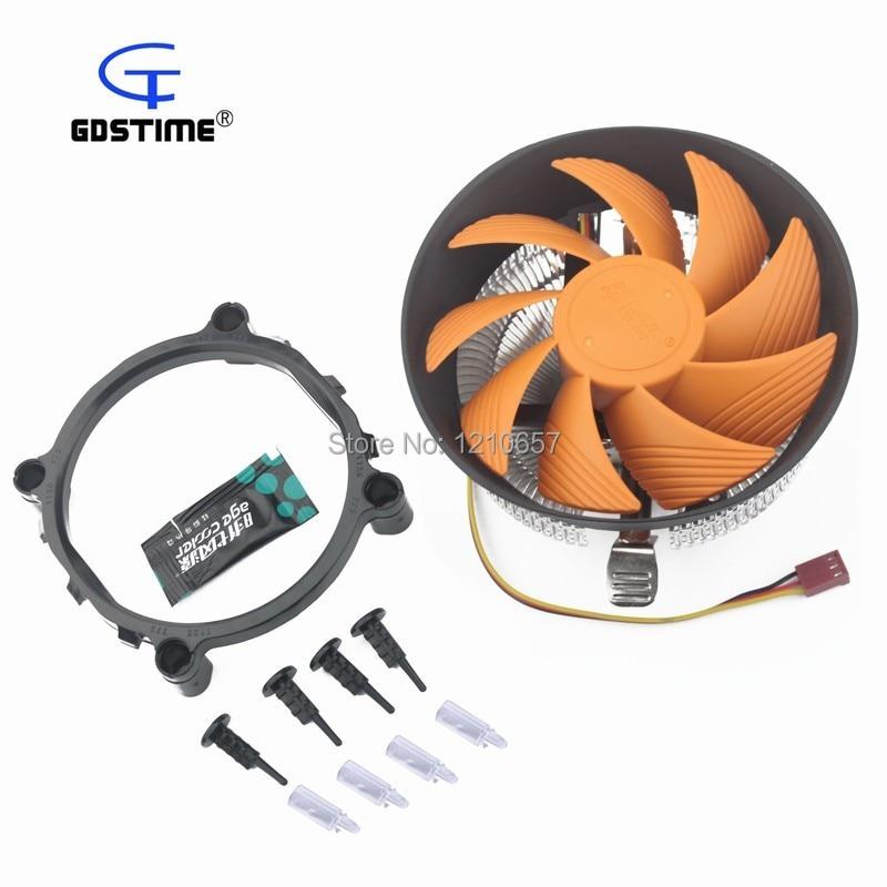 1 pieces 120MM Large Cooling Fan Aluminum Heat pipes Radiator Intel AMD Heatsink CPU Cooler цена и фото