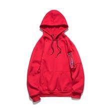 051f0951b728b Automne patch wrork homme veste à capuche décontracté Zipper hommes sweat  tout nouveau noir rouge Orange