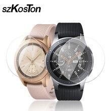 5 sztuk/2 sztuk/1 sztuk/partia dla Samsung Galaxy szkiełko zegarowe 42mm 46mm szkło hartowane folia ochronna hd 9H anty wybuchu folia ochronna