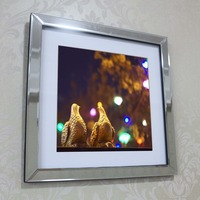 Wall mirrored frame wall picture frame wall mural wall decor glass mirror frame