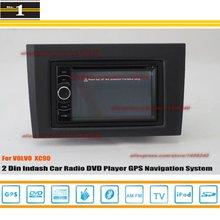 Для VOLVO XC90 XC 90 2002 ~ 2013-Автомобиль Радио Стерео CD DVD GPS Navi/HD Сенсорный Экран Аудио Видео S100 Навигационная Система