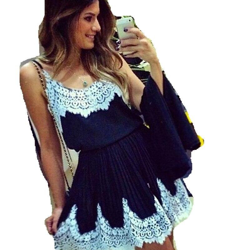 snowshine YLI New Fashion Women Sexy Lace Stitching Harness Dress Base Clothes free shipping