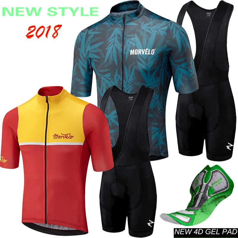 Runchita maillot ciclismo kit 2018 pro team bicicleta bike jersey sleeve  set men s ropa hombre de 47c83d420