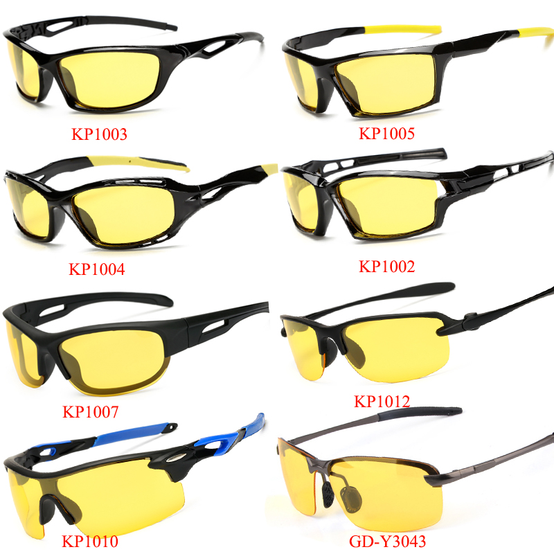 7ce5a2e4960 WarBLade 2018 New Yellow Lense Night Vision Driving Glasses Men ...