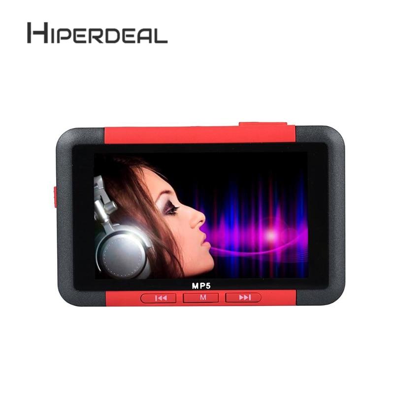 HIPERDEAL8GB Slim LCD MP5 MP4 MP3 נגן מוסיקה עם 4.3 Inch סרט תמונת מסך רדיו FM וידאו רדיו FM מקליט קול Sep19 HW