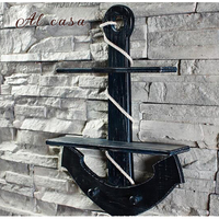 Coat Rack Clothes Hanger House And Home Decorations Wall Hanging Storage Shelf Mediterranean Style