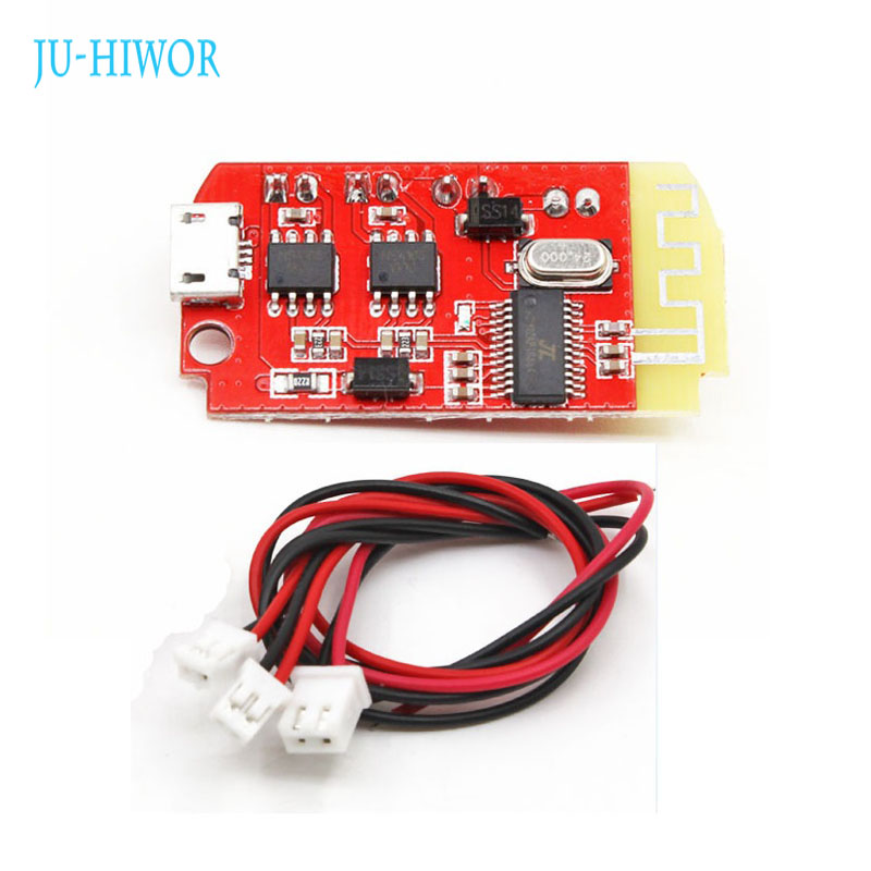 3.7V~<font><b>5V</b></font> <font><b>Bluetooth</b></font> Audio Player Power <font><b>Amplifier</b></font> DC With Micro USB Battery Charging And USB Sound Card For Android image
